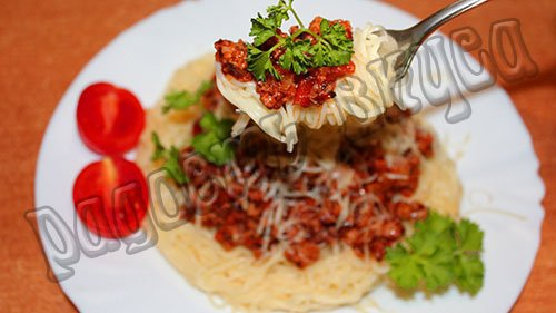 spagetti-bolongese