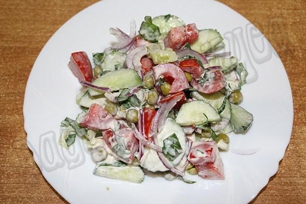 Быстрый и вкусный салат «Витаминка осени»