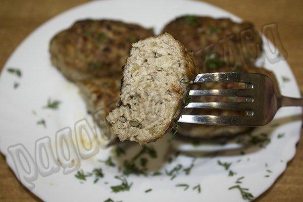 Домашние котлеты из мясного фарша самый простой рецепт