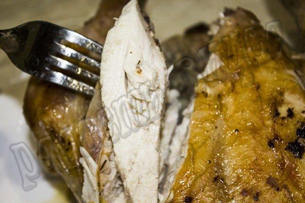курица запеченная целиком в духовке с майонезом
