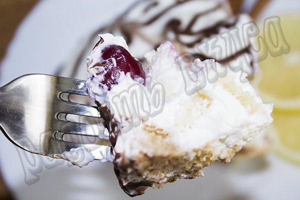 торт панчо с вишней пошаговый рецепт