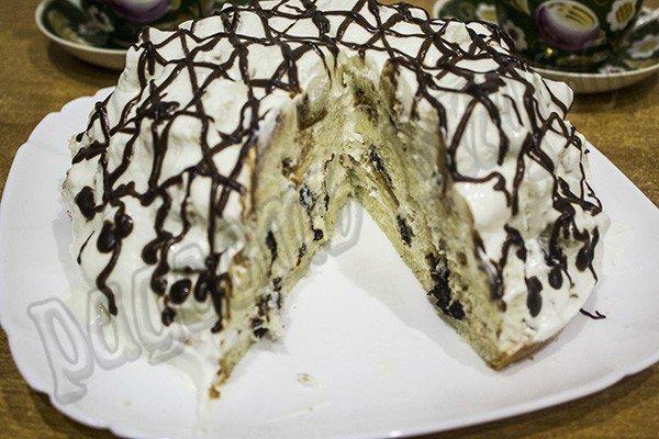 торт панчо в разрезе