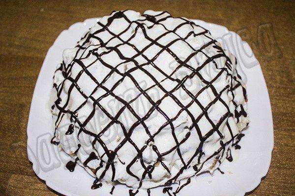 Торт Панчо с черносливом и грецким орехом рецепт для мультиварки