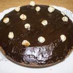Шоколадно - ореховый торт в мультиварке