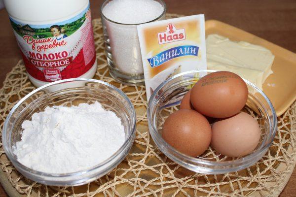 Простой рецепт заварного крема