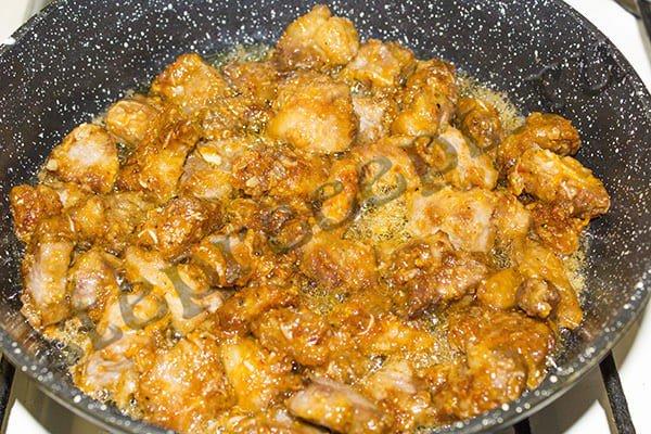Свинина в кисло – сладком соусе по-азиатски (Китайская кухня)