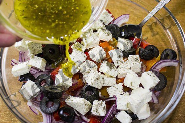 Греческий салат рецепт классический