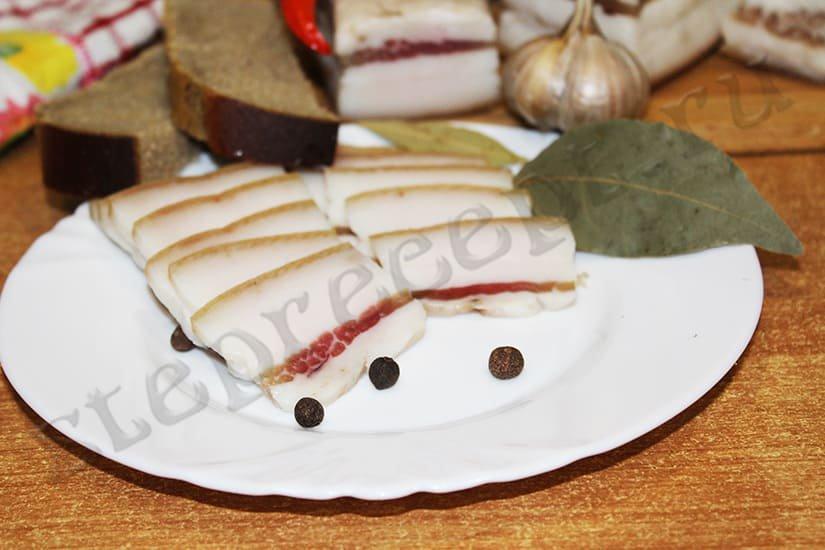 Сало в маринаде – очень вкусный рецепт