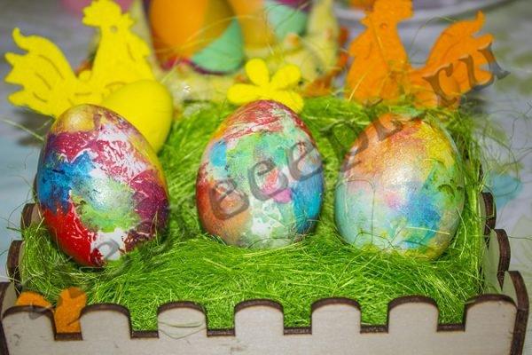 Красивые пасхальные яйца