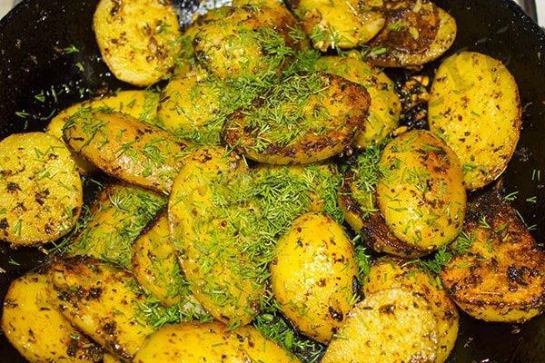 Картошка по-итальянски