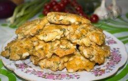 Рубленные котлеты из курицы с сыром и майонезом