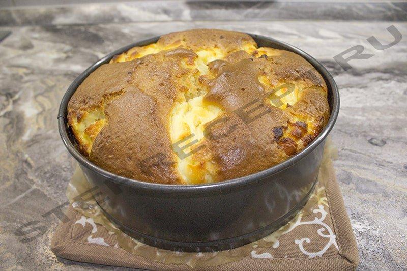 пирог с творогом в духовке рецепт