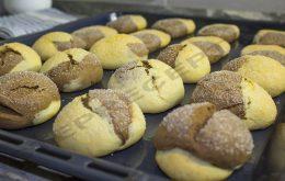 Вкусное двухцветное домашнее печенье на сметане