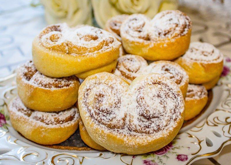 рецепт печенья на сметане быстро и вкусно