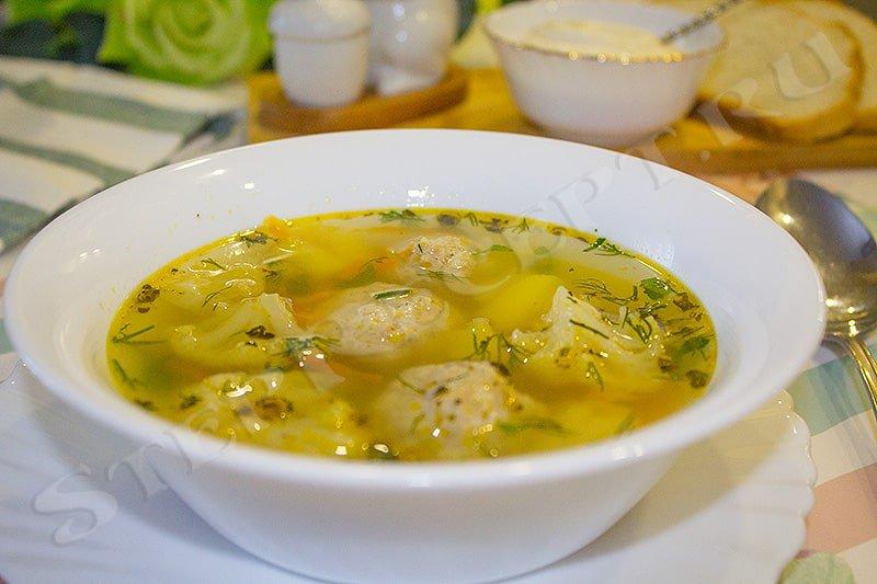 суп из капусты цветной очень вкусный