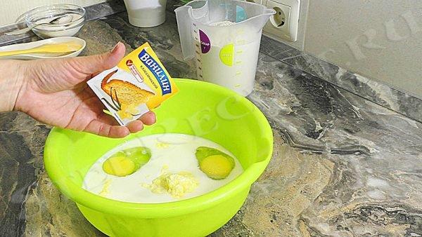 Домашние булочки с творогом