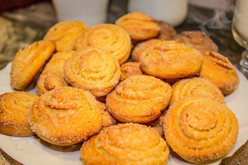 как приготовить печенье на кефире на скорую руку