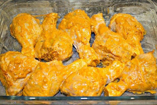куриные ножки в духовке с хрустящей