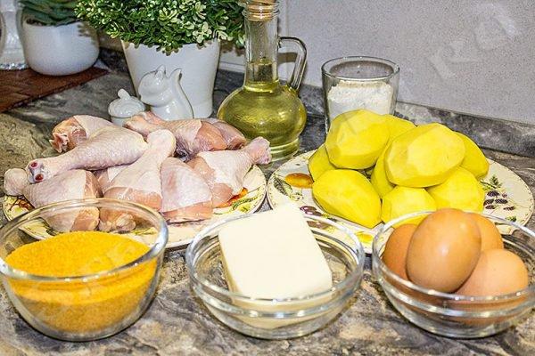 блюда из куриной голени