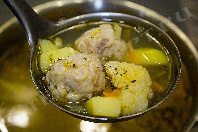 суп из цветной капусты рецепты