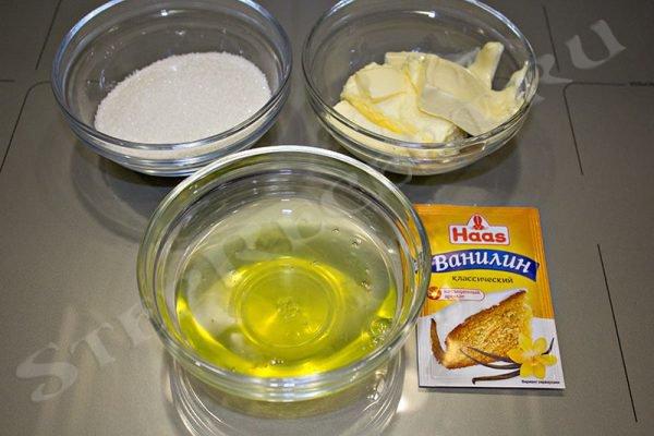 рецепт вкусных кексов