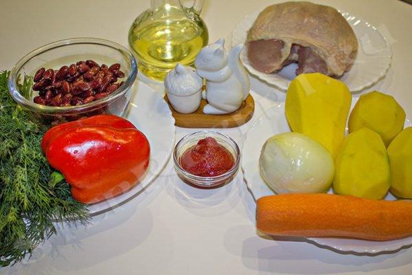 фасолевый суп из консервированной красной фасоли рецепт
