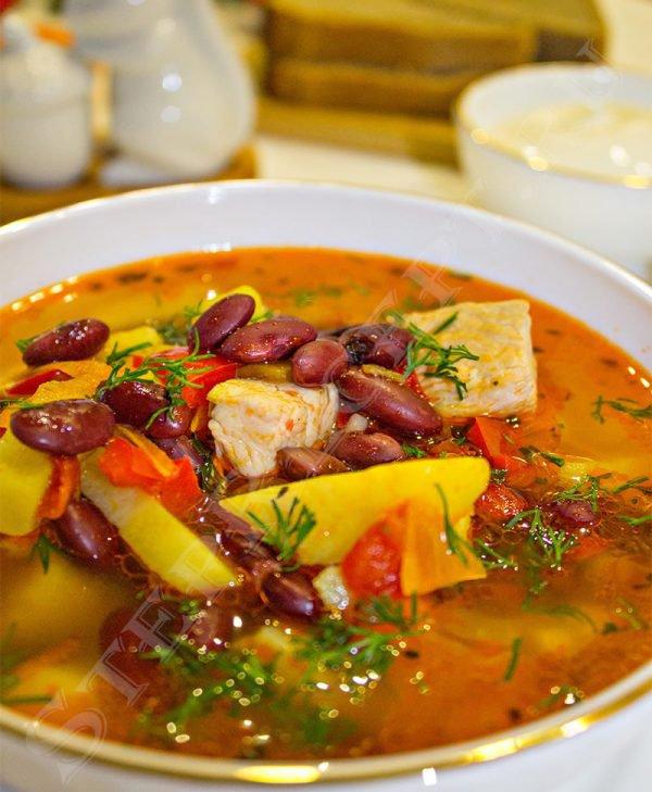 как сварить фасолевый суп