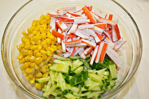 самые простые салаты на скорую руку