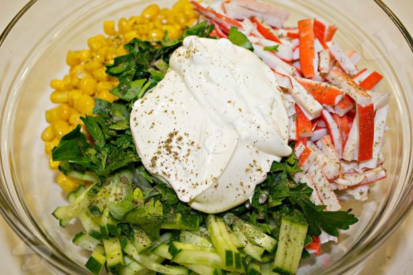 самые простые рецепты салатов