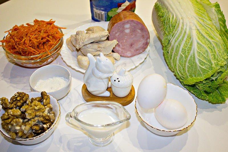 салат анастасия с пекинской