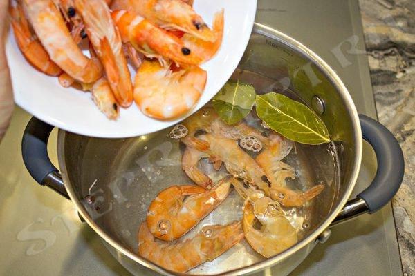 салаты с креветками рецепты с фото простые