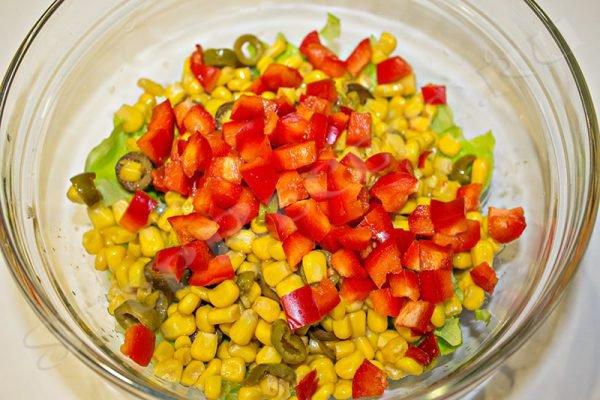 простой салат с креветками самый вкусный