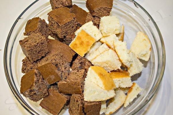 торт графские развалины рецепт