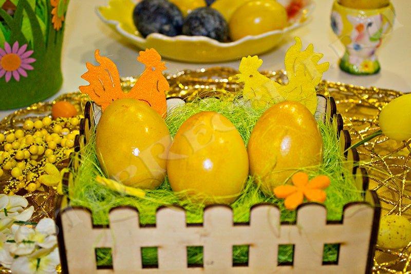 способы покраски и украшения яиц на пасху