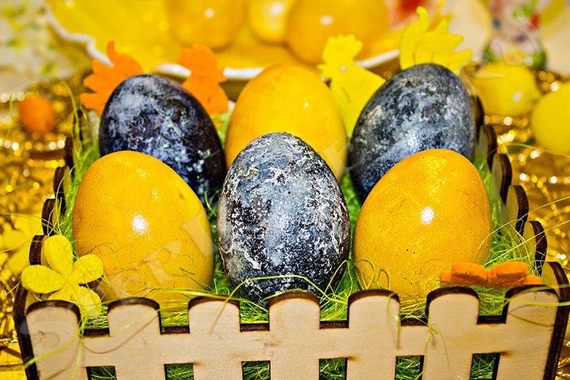 зачем красят яйца на пасху