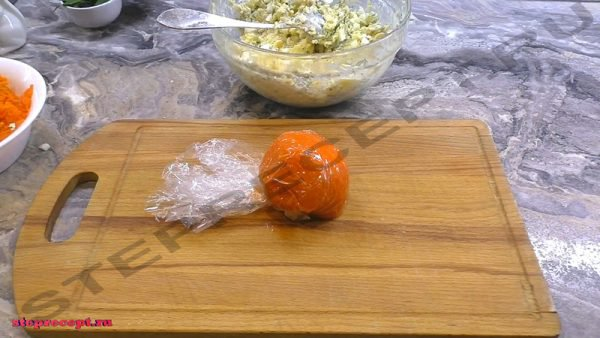 салат мандаринки с курицей