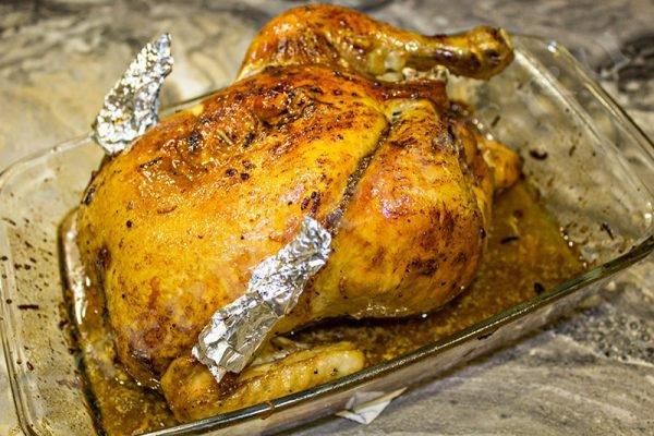 курица в духовке целиком рецепт