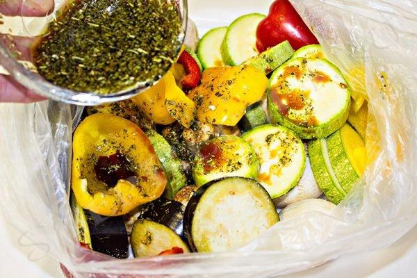 овощи на гриле на мангале рецепт маринада