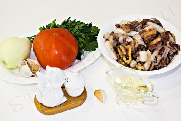 паста с морепродуктами рецепт с фото