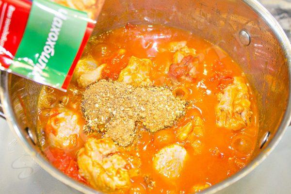 приготовить чахохбили из курицы по грузински