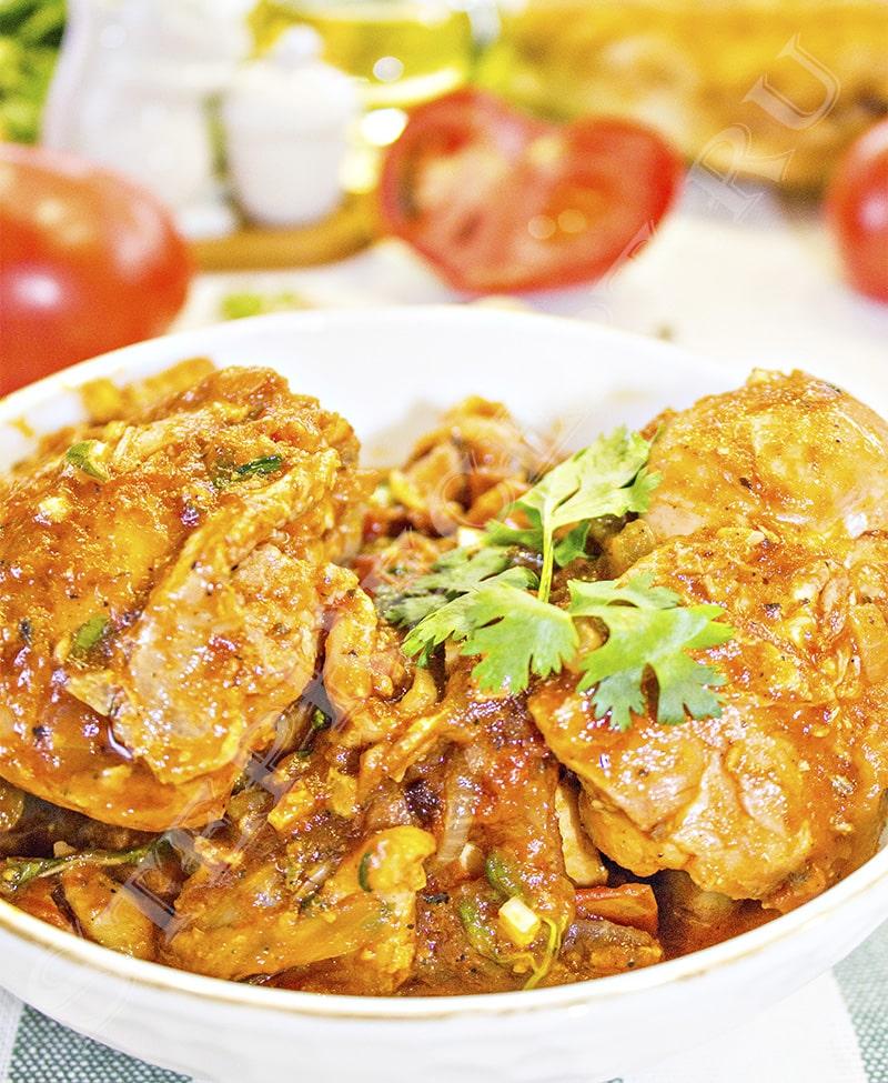 чахохбили из курицы классический грузинский рецепт