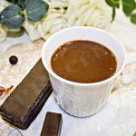 вкусный шоколадный кисель