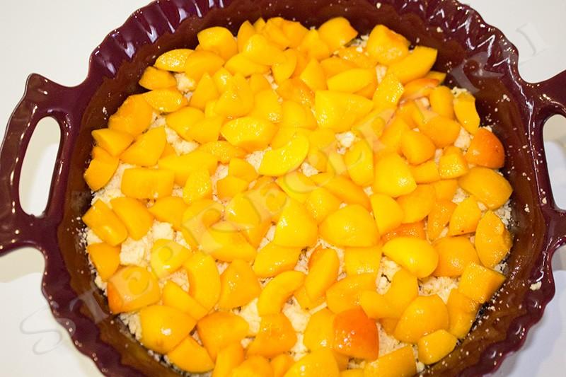 пирог с абрикосом на скорую руку