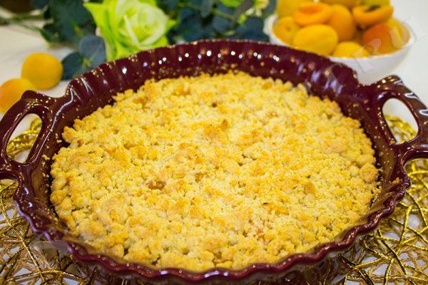 пирог из абрикосов без косточек королевский рецепт