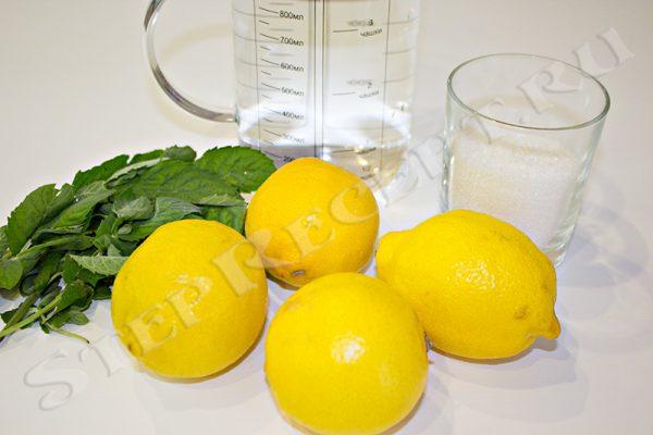 лимонад в домашних условиях с мятой