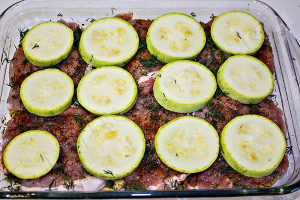 кабачки фаршированные мясом в духовке рецепты