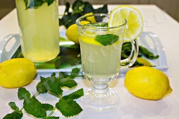 домашний лимонад рецепт с минералкой