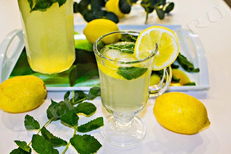 домашний лимонад из минералки