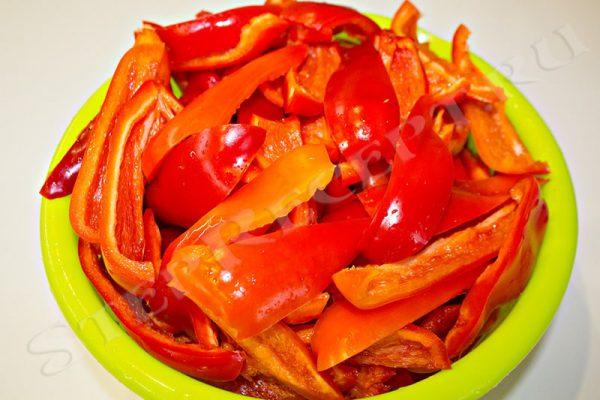 рецепт лечо из болгарского перца и помидор