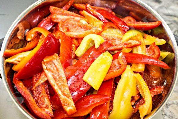 салат лечо из перца и помидоров